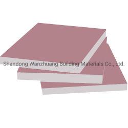 Largement utilisé Moisture-Proof étanche résistant au feu des plaques de plâtre les plaques de plâtre 7-20mm