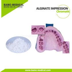 Ajuste de regulares y rápidos de alginato Dental en polvo de cromática materiales de impresión