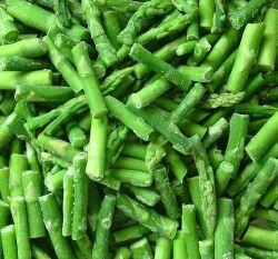 [إيقف] غرز يجمّد هليون خضراء قطعات يدرّج [ا]
