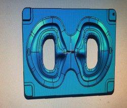 Silicon Кислородная маска пресс-формы пластиковые ЭБУ системы впрыска пресс-форма/медицинские маски с задержкой дыхания