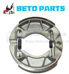 Usine de fabrication de haute qualité pour les mâchoires de frein CG125, ont plus de modèle, CG150, YBR125, Bajaj, CD70, l'AX100.