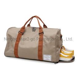 حقيبة كبيرة الحجم قابلة للطي على شكل حاجز من أكسفورد، حقيبة رياضية مخصصة للنساء