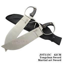 Боевые искусства крыло Chun мечи сдвоенных лезвий 42см Jot115c