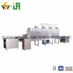 Setzt Die Ausrüstung Für Die Sterilisation Von Mikrowellen-Flüssigkeitscheiber Fort