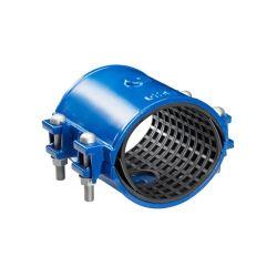 Zweiteiliger Typ duktile Eisen-Wasser-Rohr-Reparatur-Schelle, aufgeteilte Hülsen