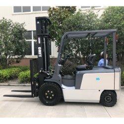 De elektrische Vrachtwagen 3.5ton 3500kgs van 4 Wielen van de Vorkheftruck Mini met de Vrije Batterij van het Onderhoud