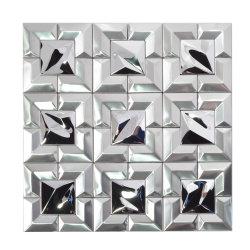 La decoración del hogar Panel Compuesto de Aluminio Mosaico de metal pulido