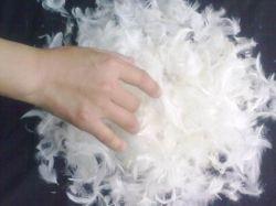엄격한 품질 도매 제조 세차된 회색 고스 베개 소파 필링 재료 4-6cm 아래로 페더