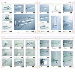 Support de brosse wc en aluminium