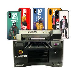 Stampante UV disponibile in tutta la stampante a base piatta UV acrilica di ceramica di legno A3 LED della cassa del telefono della tazza di Funsun 1440dpi Dx8 di formati della penna di golf della bottiglia capa della sfera
