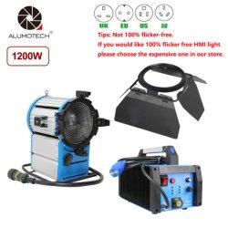 Luz de tungsténio de Fresnel HMI 575W/1200w/2500w/4000w/6000W para equipamento fotográfico Moive Estúdio de Cinema de iluminação de vídeo