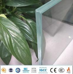 Bajo el hierro Pec Ionoplast Precio barandilla de escalera de vidrio laminado