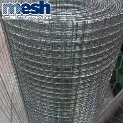 Malla de alambre soldada de acero galvanizado antes de soldar