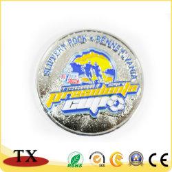 Brillant Cadeau souvenir Sports étiquette de la Police de métal broche insigne sportif