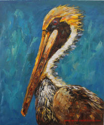 Canvas Wall Art Egret Oil Paintings for Wholesale