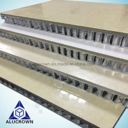 600x600мм травертина мраморным полом с остеклением полированным Honeycomb Core плитки