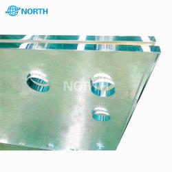 Marcação ce temperado de alta qualidade baixa o vidro de ferro