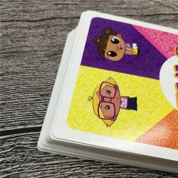 Schede educative delle schede di gioco del documento di arte di Cusotmized