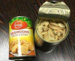 Консервированные грибы Грибной кусочками и штоков клапанов 425 g