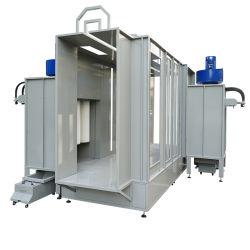 Ручной / автоматический режим порошковое покрытие для покраски, транспортер порошковой краской стенд для производственной линии