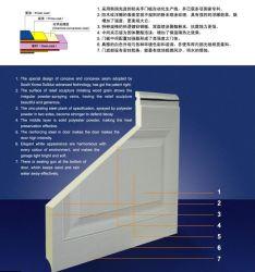 Aislado de aluminio motorizadas de policarbonato/cristal orgánico vista completa de puerta de garaje generales