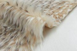 すばらしいアライグマの毛皮ファブリックのどの毛皮のプラシ天ファブリック人工毛皮
