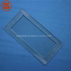 Dekking Van uitstekende kwaliteit van het Glas van de Vlotter Borosilicate van de douane de Duidelijke Vierkante Aangemaakte