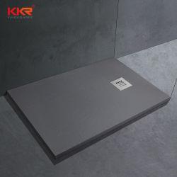 Polymarble акриловой смолы камня душ в ванной комнате