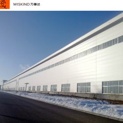 작업장 창고 또는 제작 금속 건축 건축재료를 위한 Prefabricated 강철 구조물