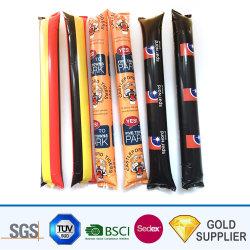 Promozionale Adesivo Colorato In Pe Thunder Sticks Martello Barbell Forma Noise Maker Palloncino Plastica Gonfiabili Calcio Eventi Pong Pong Cheer Sticks