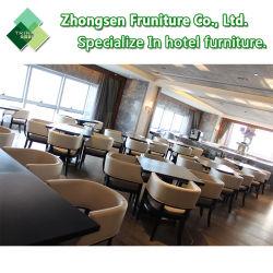 Personalisatie Modern Houten Metaal Stof Lederen Tafel Stoelmeubilair Voor Hotel Restaurant Dining Room Bar Cafe