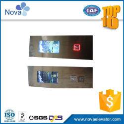 디스플레이 보드 LOP가 있는 엘리베이터 랜딩 작동 패널