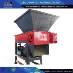 Eixo Único Triturador Triturador para Plasic, Pneu, metal, madeira, Médico da reciclagem de resíduos da Ut 1 eixo de Máquinas de picar a máquina