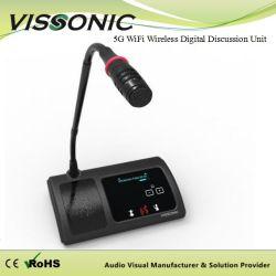 Конференции System Professional беспроводной микрофон на изогнутой стойке микрофона