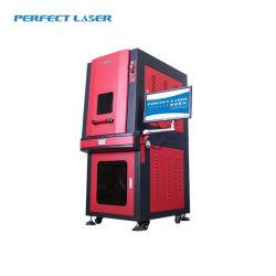 안전은 PVC 철사 펜 표하기를 위한 내각 Pedb-500 유형 공기에 의하여 냉각된 휴대용 Laser 마커를 둘러쌌다