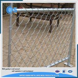 Feux de fil diamanté galvanisé à chaud de basket-ball de clôture de maillon de chaîne