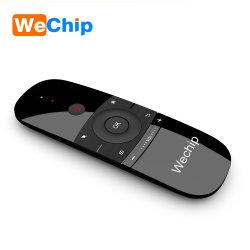 2018 heißes verkaufenWechip W1 2.4G Fernsteuerungs für androider Fernsehapparat-Kasten intelligenten Fernsehapparat Wechip W1