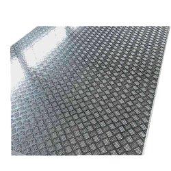 Установите противоскользящие алюминиевые шашечным рисунком протектора для номерного знака