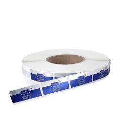医学の包装のための習慣によって印刷されるロール10mlガラスびんのスキンケア製品の付着力のステッカーのラベル
