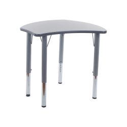 PU кромки учебных классах стул один студент школьной мебели письменный стол