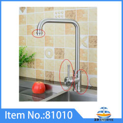 Kitchen Mixer Sink Faucets One Handle COLD Hot Taps