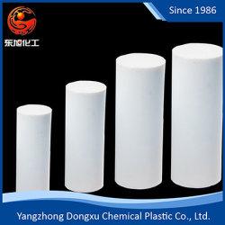 Resistente a altas temperaturas de color Negro/Blanco/vástago Vástago de PTFE, PTFE Bar