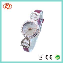 Fashion Rhinestone charmant Femmes de la couronne royale de verre bleu montre-bracelet