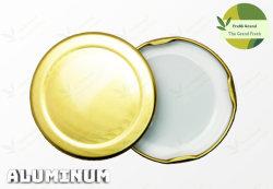 Espolón de aluminio de 58 mm patentado tarro tapa tapa