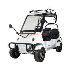 Grüne Energie Mini4 Seater Zhengmin S8 preiswerte elektrisches Auto-Golf-Karre 60V2500W mit CER Bescheinigung