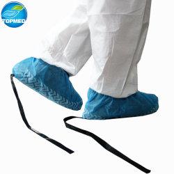 De blauwe Antislip niet Geweven Antistatische Beschikbare Stofdichte Dekking van de Schoen