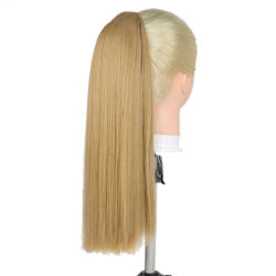 الجملة المصنع السعر طويل على التوالي المصنع الكلس بونيل الحرارة العالية وصلات تمديد الشعر الصناعية الذيول