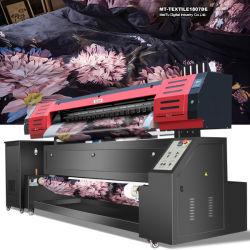 綿で印刷するべき直接1.8mデジタルファブリック印字機の織物プリンター