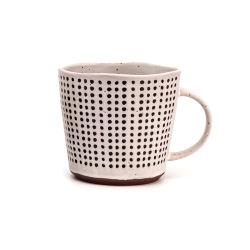 세라믹 찻잔 찻잔 조악한 도기 손으로 그리는 찻잔 에티오피아 커피 잔 고정되는 우유 컵