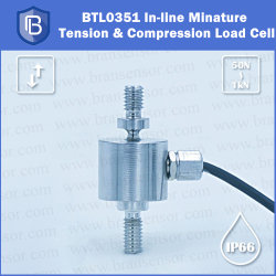 Bransensor Inline Tension and Compression Miniature Load Cell for Tension Tester